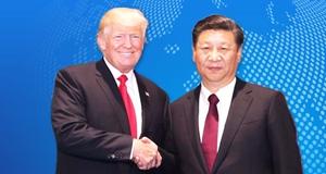 2017年美国总统特?#21183;?#20122;洲行访问中国
