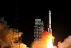 """中国""""一箭双星""""成功发射北斗三号卫星"""
