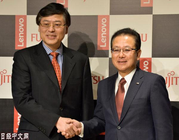 出资富士通 联想将掌握日本个人电脑40%市场份额