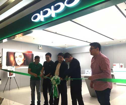 加强品牌影响力 oppo在马尼拉新增两家实体店