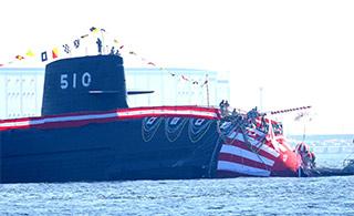 日本第10艘苍龙级潜艇下水