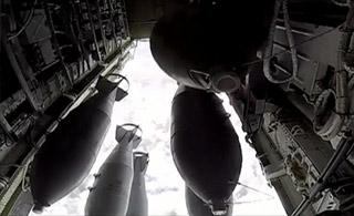 俄罗斯对叙利亚境内目标实施大规模海空打击