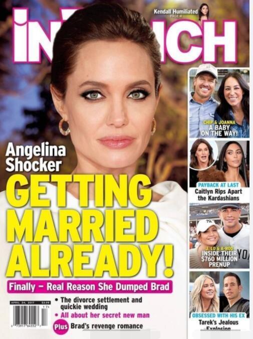42岁的安吉丽娜·朱莉准备第四次婚姻,皮特却毫不知情!这六个孩子的妈性感不减当年