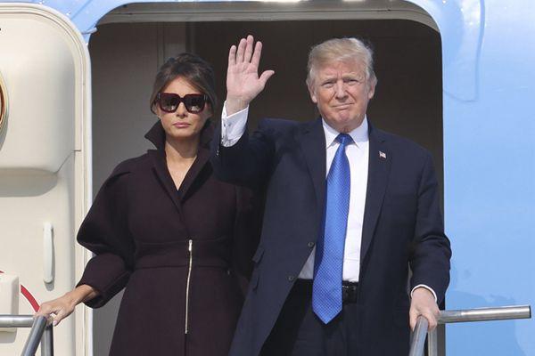 特朗普抵达韩国开启亚洲行第二站