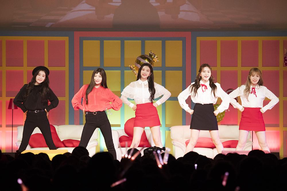 大势女子组合Red Velvet 日本首次SHOWCASE大成功