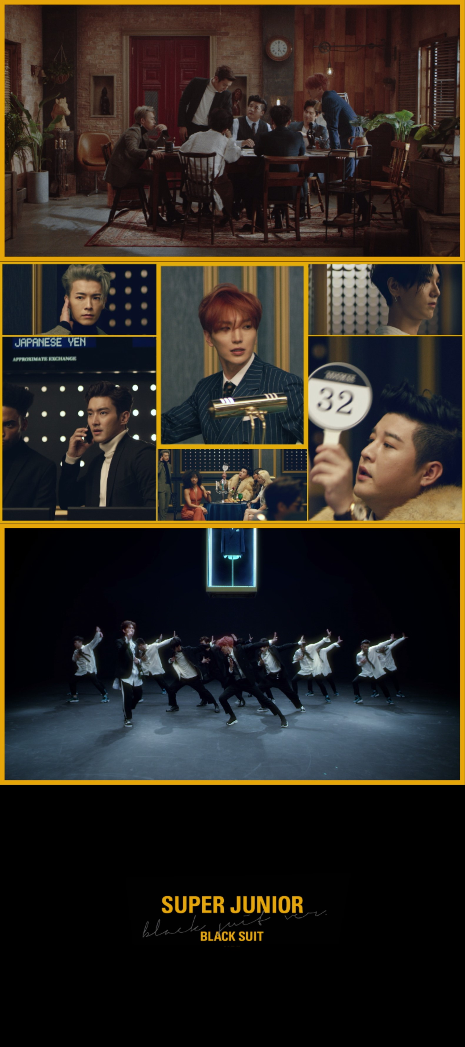 '亚洲传奇'Super Junior 美国billboard关注新歌《Black Suit》
