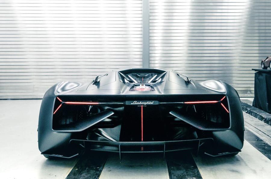 兰博基尼Terzo Millennio电动概念车 未来方向前瞻
