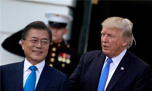 以争议岛屿命菜名 韩国欲在晚宴向特朗普痛批日本