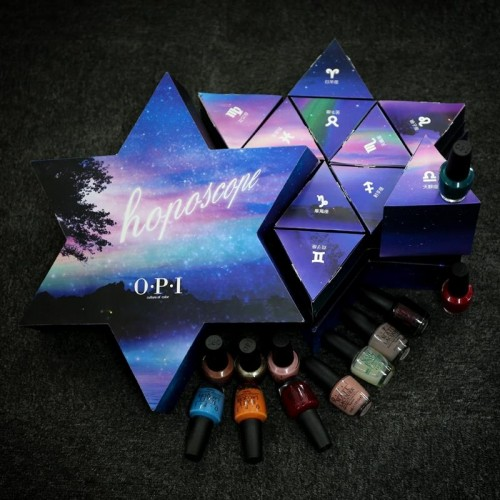 美甲新风尚,OPI十二星座美甲礼盒全球限量发布