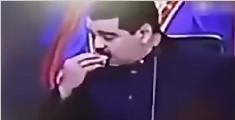大跌眼镜!委内瑞拉总统演讲时偷吃馅饼被直播