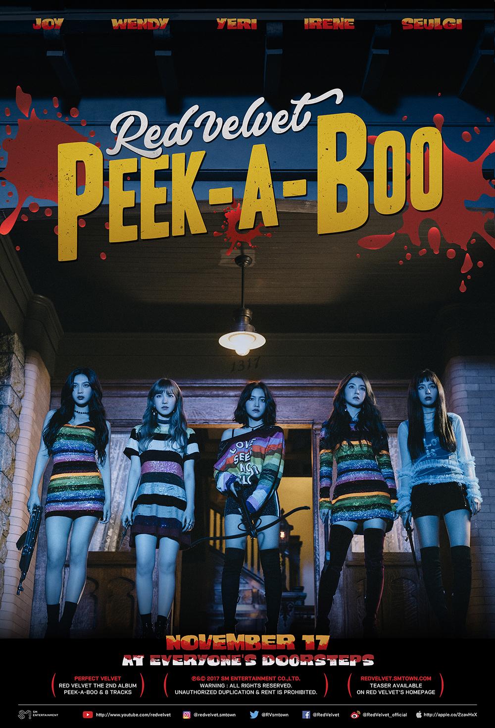 Red Velvet正规2辑回归!主打《Peek-A-Boo》将引起强烈反响