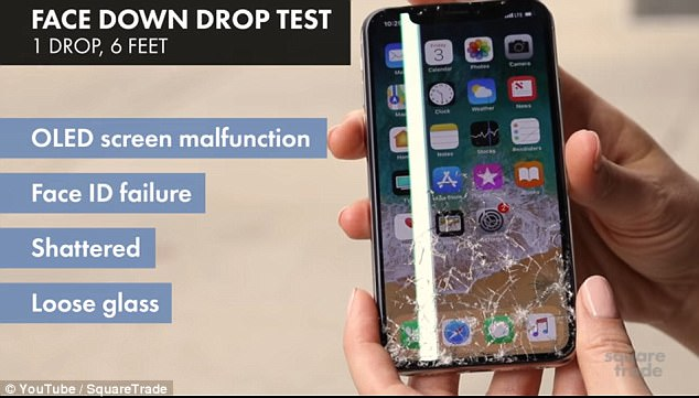 请轻轻捧在手里!iPhone X屏幕被评定为最易碎