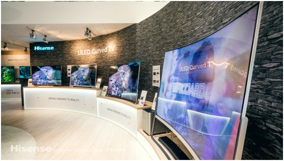 IHS:海信全球电视平均出货尺寸第一