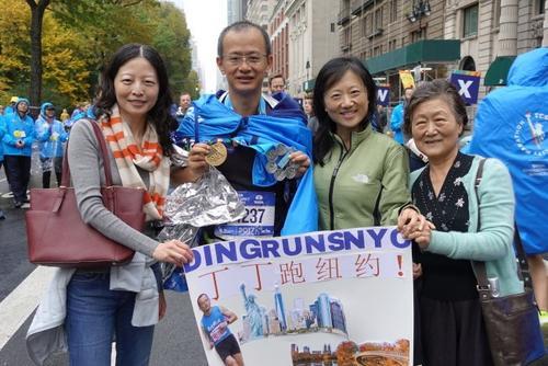 媒体:2天往返中美 中国地产人征服世界马拉松六大满贯