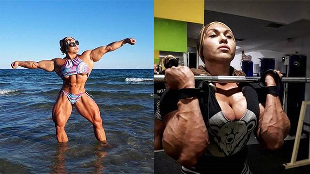 26岁女子满身肌肉,浑身散发着力量,却总被人说丑