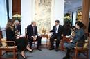 美国总统特朗普对中国进行国事访问1109