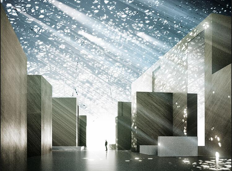 漂浮海上的艺术殿堂:阿布扎比卢浮宫开幕