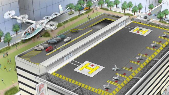 """优步要""""上天"""":与NASA合作打造飞行出租车系统"""