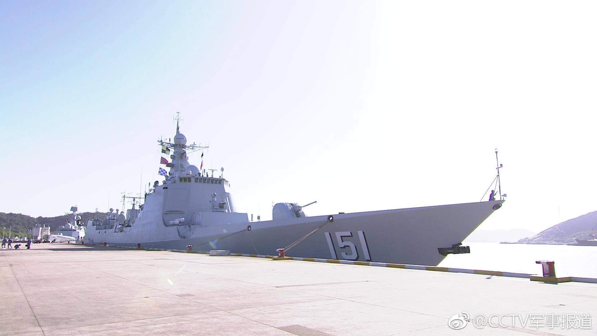 中华神盾舰起航赴东盟参加国际阅舰活动(图)