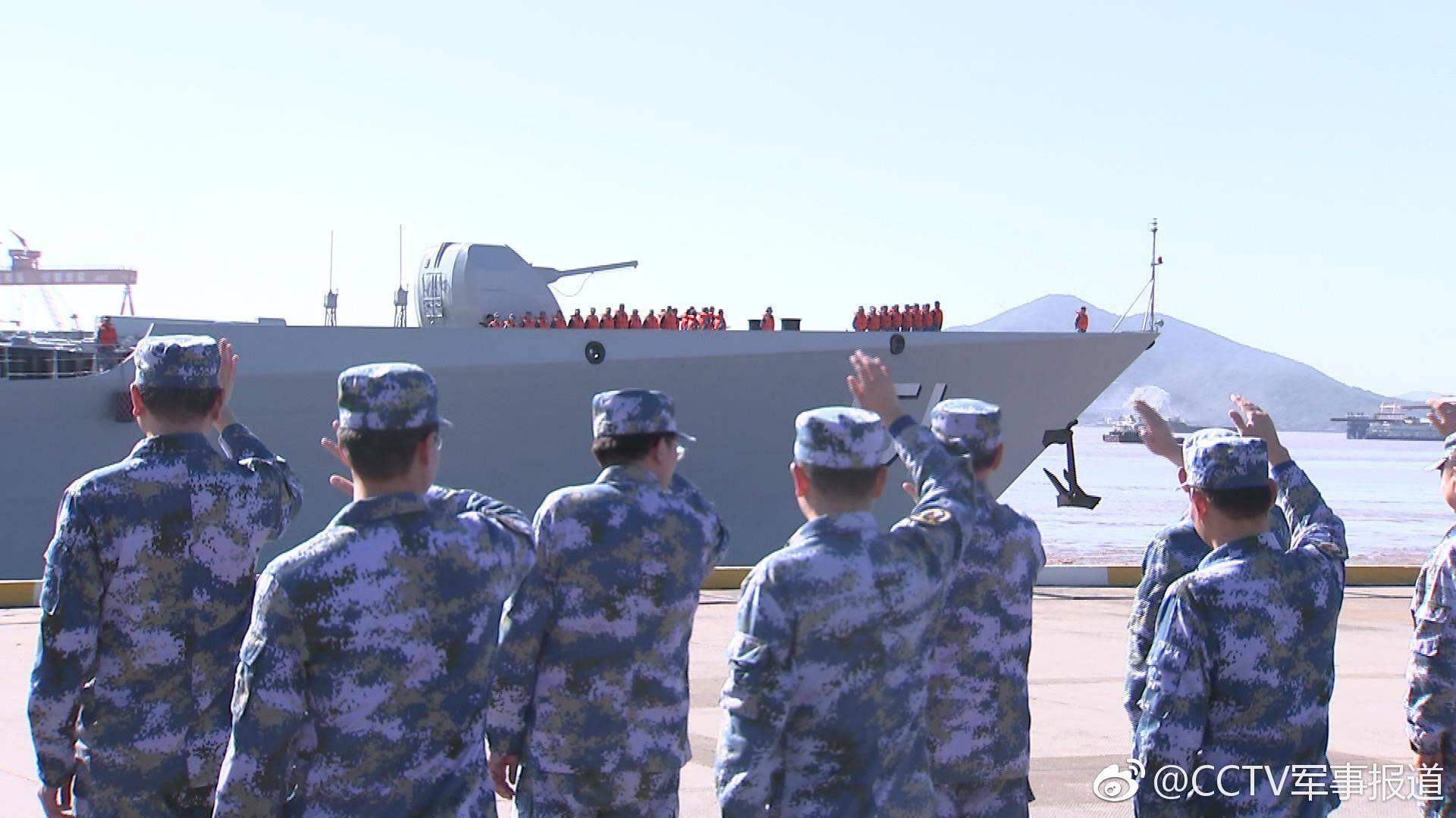 中华神盾舰起航赴东盟参加视频阅舰v视频(图)图片做3d国际图片