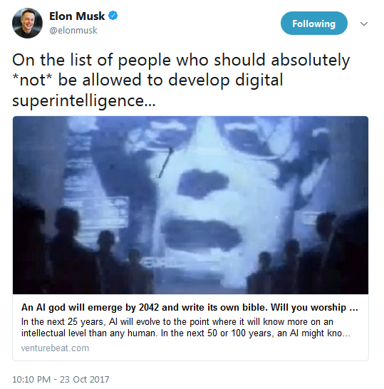 数百名AI专家力挺马斯克霍金:呼吁禁杀人机器人