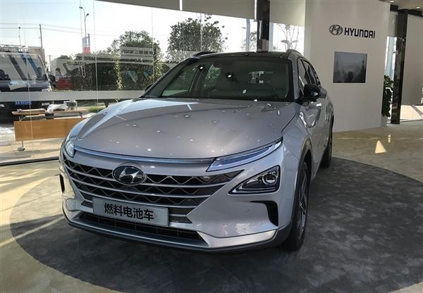 续航800km!现代新一代氢燃料电池车中国首发
