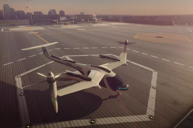 "Uber""飞行汽车""可能于2020年前在洛杉矶投入运营"