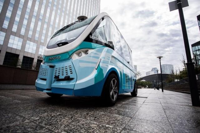 法国人开发无人驾驶大巴车:定价192万