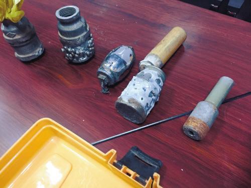 沈阳警方查获非法制枪和手雷窝点 相继抓获仨嫌疑人