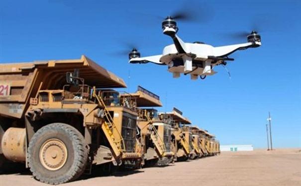 澳科学家研制采矿无人机飞入地下去拍照