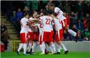 附加赛-R罗点射建功 瑞士客场1-0北爱尔兰占先机