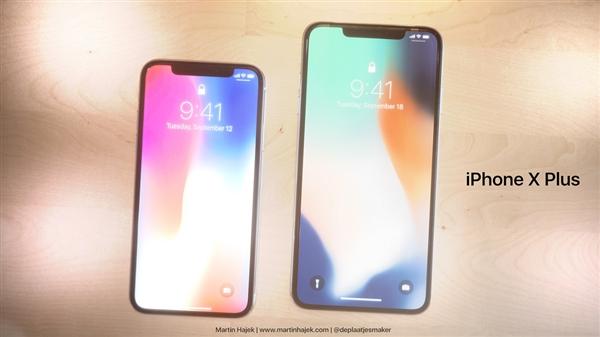 屏幕更大了!6.4英寸iPhone X高清概念图曝光