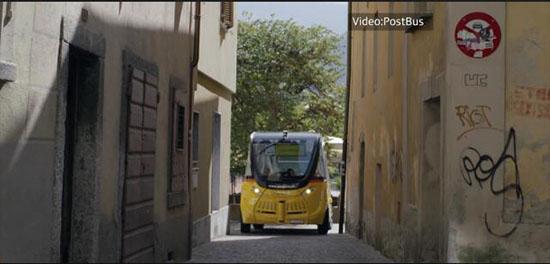 瑞士无人驾驶公交车试验延长 乘客接受度高