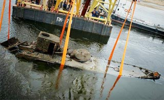 苏联装甲炮艇沉没75年后重见天日