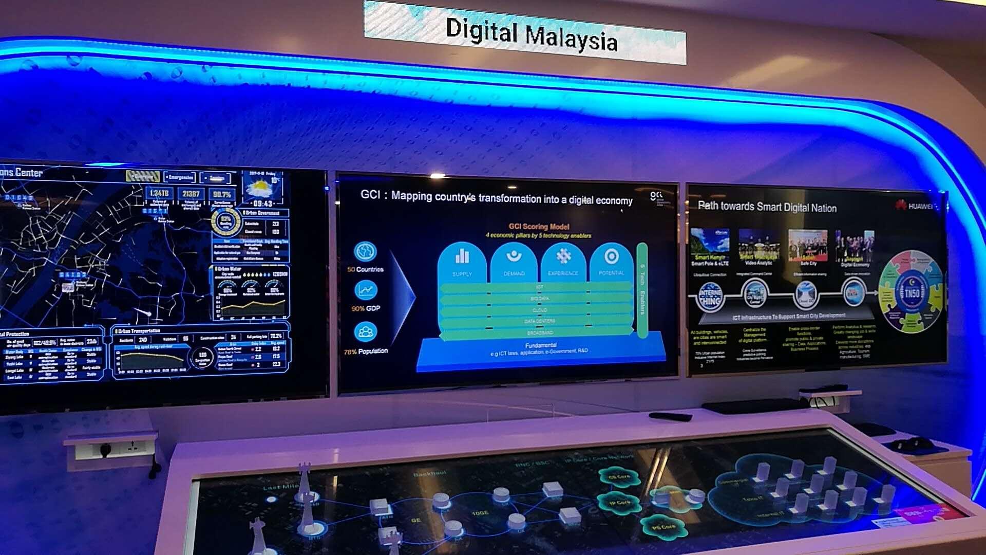 雷不撕现场:探访华为马来西亚客户解决方案中心