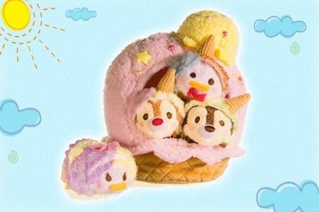 圆形指甲油小奥汀波点系列迪士尼TsumTsum DOT礼盒全新上市