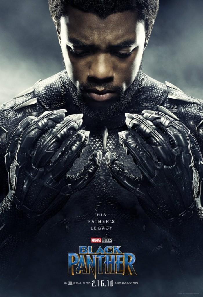 《黑豹》公布全员角色海报