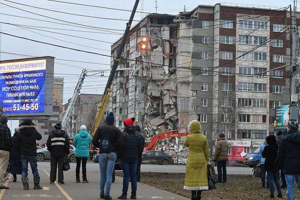 俄民宅坍塌致6死仍有1人失踪