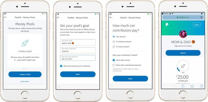 PayPal推出新功能 可以容易地为礼物筹集资金