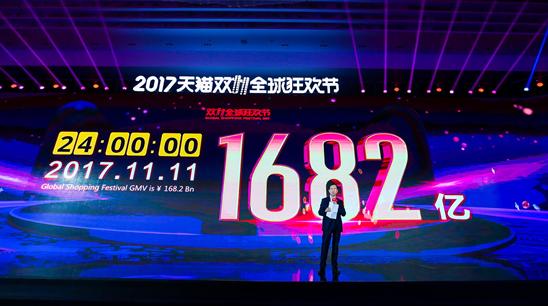 阿里CEO张勇:双11全球共振创造全球高度