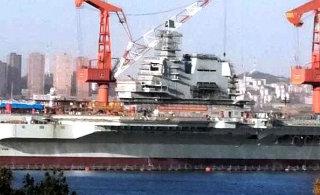 国产航母新照:加装相控阵雷达