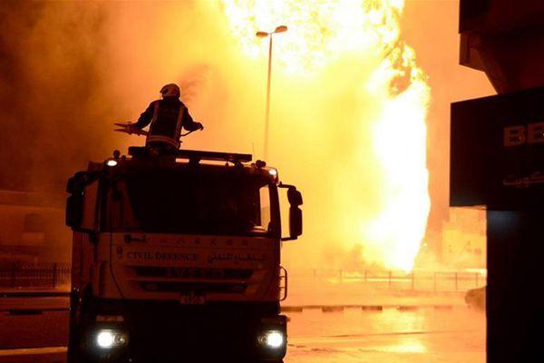 巴林指其输油管爆炸是恐袭事件