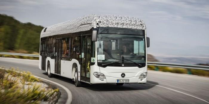 奔驰全电动Citaro巴士将使用模块化电池组供电