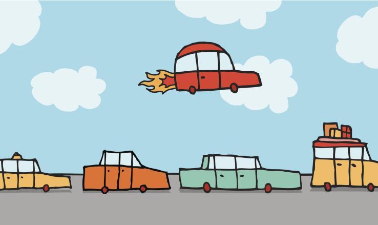 飞行汽车会是交通领域的未来么?