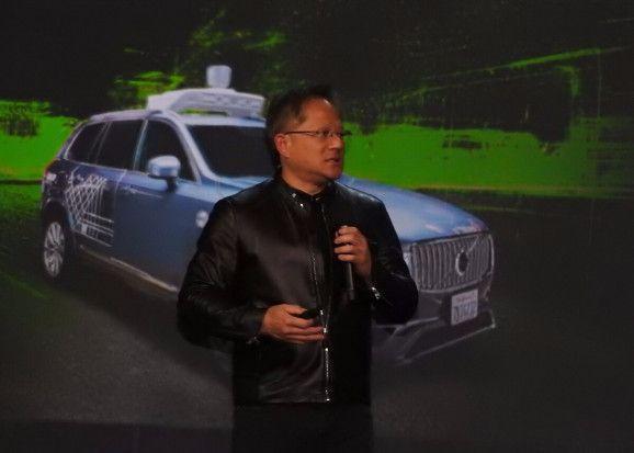 英伟达首席执行官:自动驾驶汽车将于2020年上路
