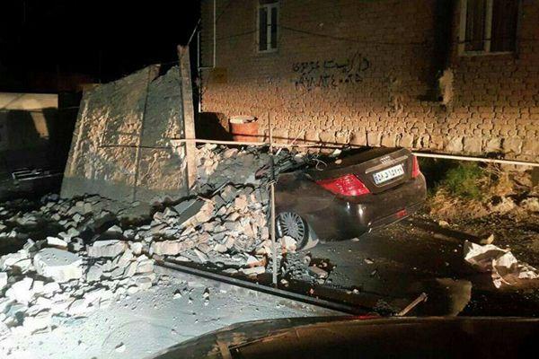 两伊边境发生7.8级地震 已导致至少207死1700伤
