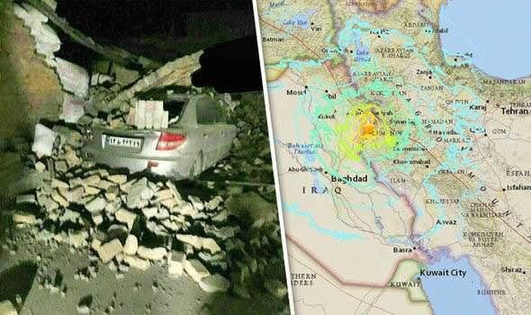 两伊边境发生7.8级地震 已致328死1700伤(图)