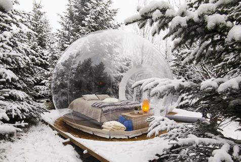 梦幻!冰岛建泡泡酒店提供奢华极地体验