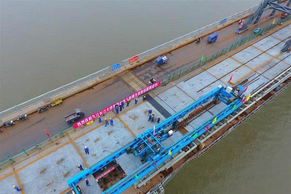 九江长江大桥加固改造