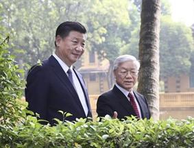 习近平访问越南精彩图集(11月13日)